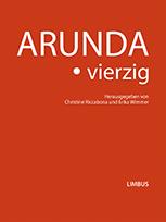 Buchumschlag Arunda. vierzig